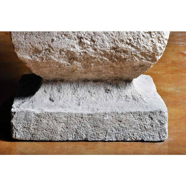 19th Century Limestone Garden Table For Sale - Image 10 of 13