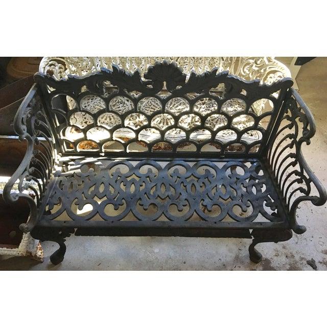 Cast Iron Garden Patio Bench - Image 2 of 11