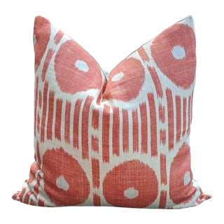 Mesa Ikat by Thibaut Pillow Cover For Sale