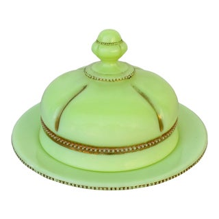 Early American Glass Butter Dome For Sale