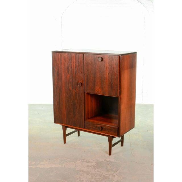Elegant Mid-Century Dutch Design Rosewood Bar Cabinet for Fristho Franeker, 1960s For Sale - Image 13 of 13
