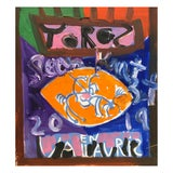 Image of 'Toro' Framed Picasso Poster Painting by Sean Kratzert For Sale