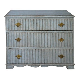 Gustavian 3-Drawer Chest For Sale