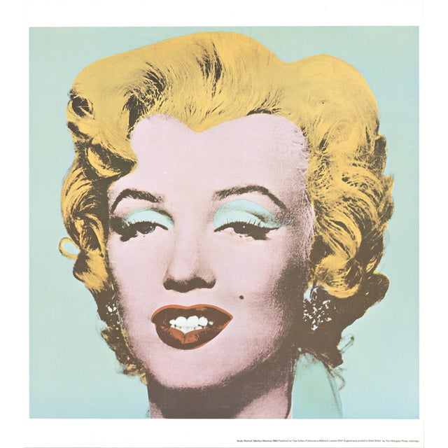 Andy Warhol Andy Warhol, Marilyn, Offset Lithograph, 1971 For Sale - Image 4 of 4