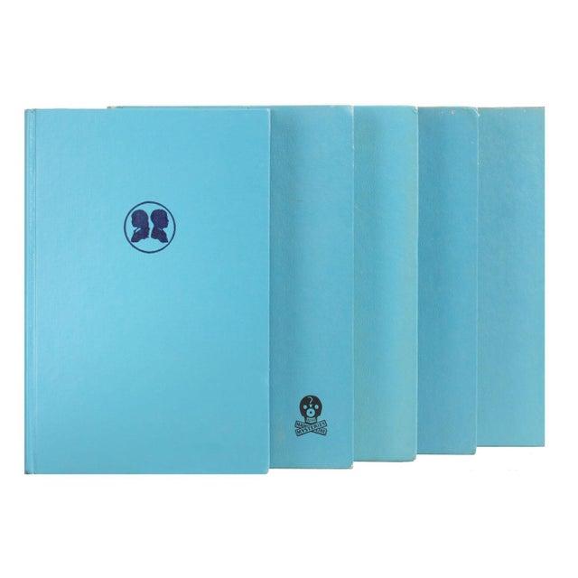 Cerulean Blue Mid-Century Books - Set of 20 - Image 2 of 2