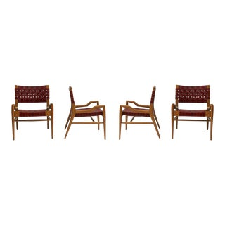 John Keal Chairs - Set of 4 For Sale