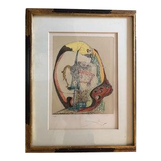 Vintage Salvador Dali Print For Sale
