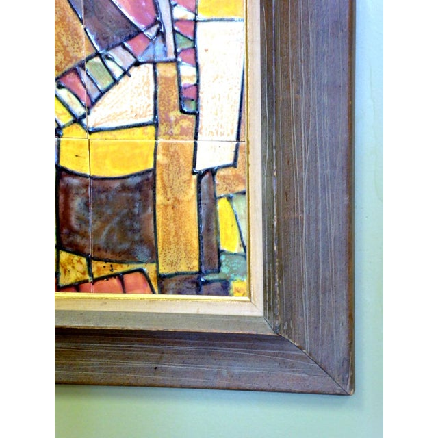 1950s Harris Strong Cubist Tile Composition - Image 3 of 3
