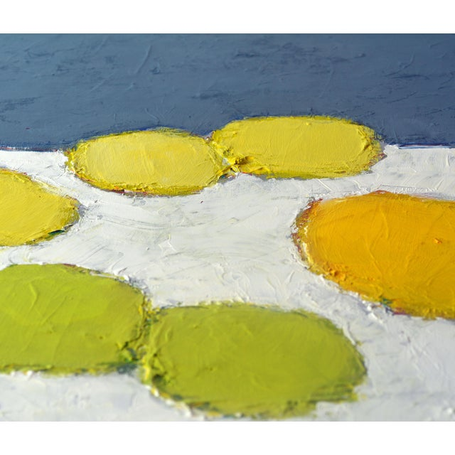 'Color Composition' Original Abstract Painting by Lars Hegelund For Sale - Image 10 of 12