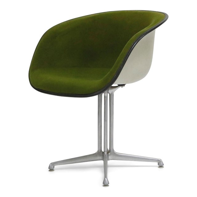 Green Alexander Girard & Charles Eames La Fonda Swivel Chairs for Herman Miller, 1960s For Sale - Image 8 of 13