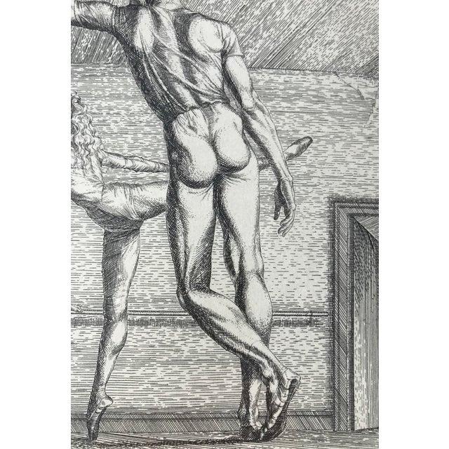 Paul Cadmus Arabesque Etching For Sale - Image 5 of 7