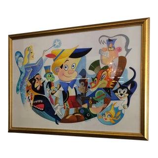 Pinocchio's World Print For Sale