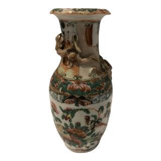 Late 19th Century Rose Medallion Vase For Sale