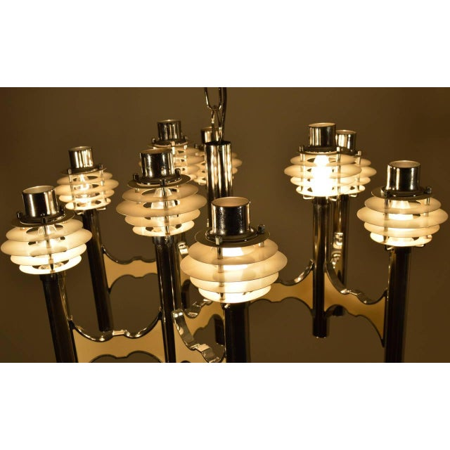 Mid-Century Modern Mid-Century Ceiling Lamp by Gaetano Sciolari For Sale - Image 3 of 7