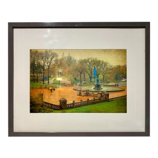 Art Print of Central Bethesda Terrace Fountain by Thomas Snyder For Sale