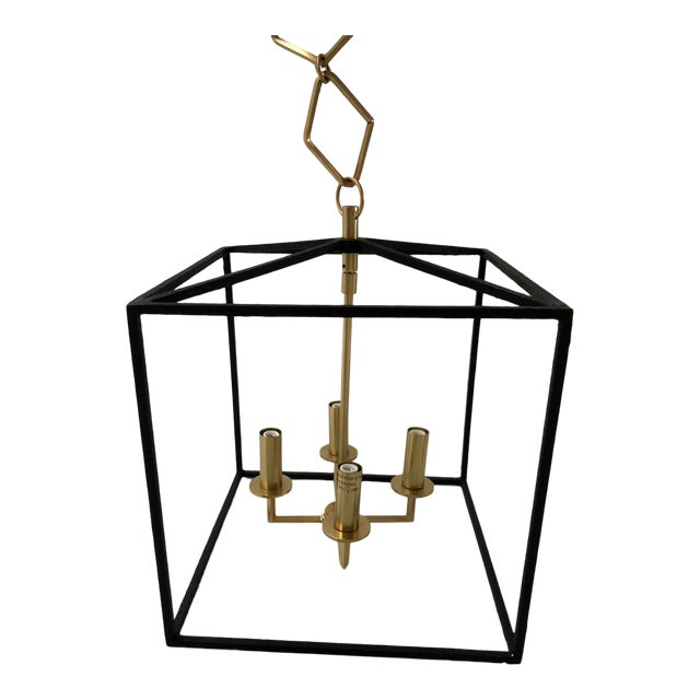 Modern Brass and Gold Pendant by Becki Owens for Hudson Valley Lighting For Sale