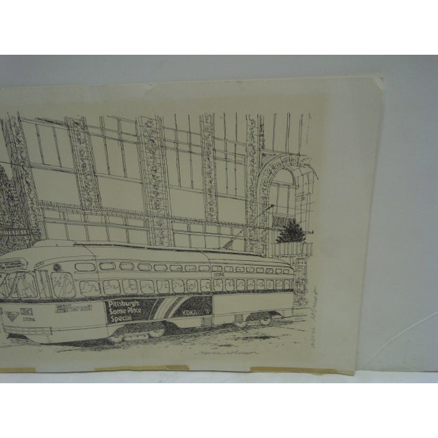 Pittsburgh PAT Transit Cable Car Print For Sale - Image 4 of 6