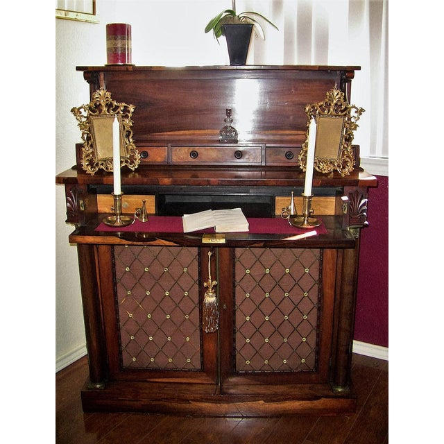 HIGHLY DESIRABLE AND IMPORTANT ITEM !! EXCEPTIONAL QUALITY !! Fantastic piece......impeccable condition........Regency...