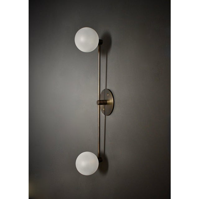 Segment Wall Lamp or Flushmount Ceiling Fixture by Blueprint Lighting For Sale In New York - Image 6 of 8