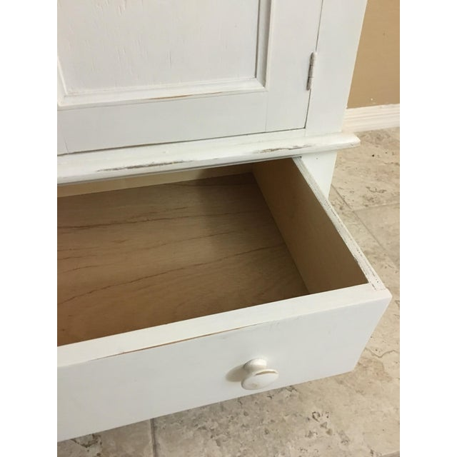 Shabby Chic Cottage Cabinet - Image 8 of 8