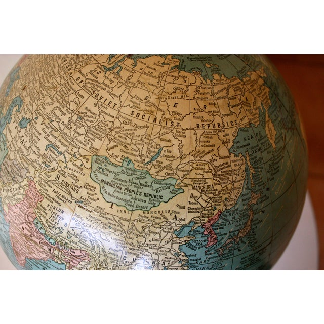 1960sImperial Mid-Century Globe - Image 5 of 5