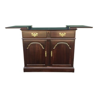 Ethan Allen Georgian Court Server Bar Cabinet