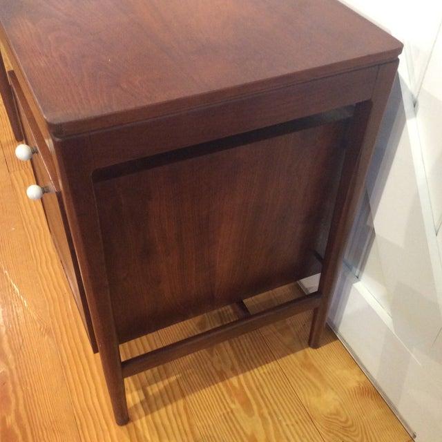 Drexel Mid-Century Walnut Desk - Image 7 of 11
