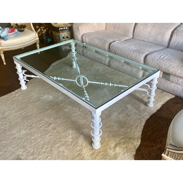 Modern Giacometti Style Coffee Table For Sale - Image 3 of 11