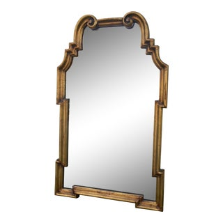 Labarge Style Gold Hollywood Regency Mirror