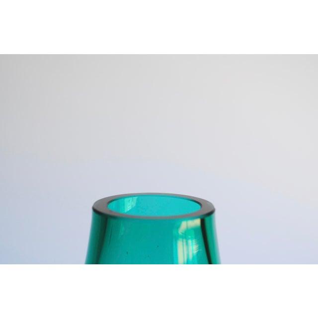 Teal Green Vase - Image 3 of 3