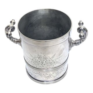 American Aesthetic Silver Plated Champagne/Ice Bucket, by Meriden Silver Co For Sale