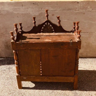 Antique French Carved Walnut Panetiere Preview