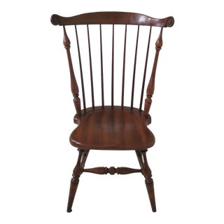 Frederick Duckloe Cherry Windsor Side Chair For Sale