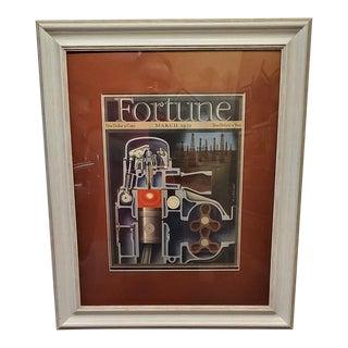 Art Deco Fortune Magazine Cover March 1939 For Sale