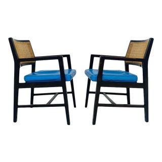 Edward Wormley for Dunbar Armchairs - A Pair For Sale