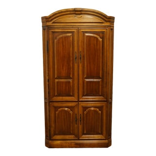 "Vintage Italian Provincial Cherry 41"" Entertainment Cabinet/Media Armoire For Sale"