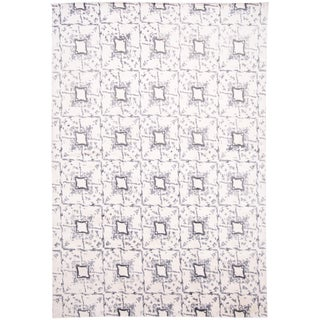 21st Century Contemporary Silk Rug For Sale