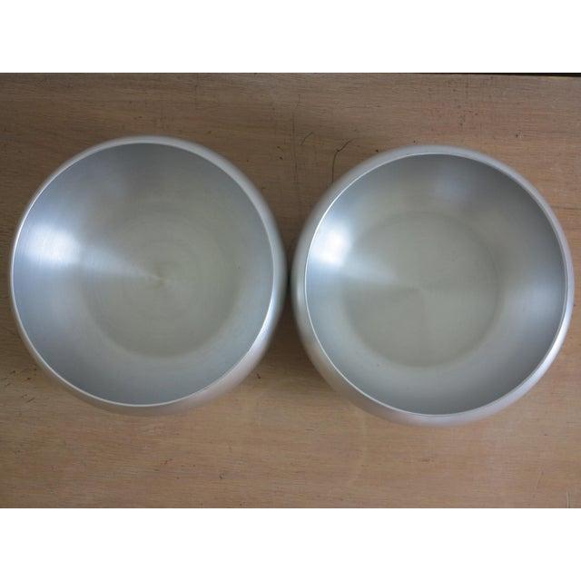 Kensington Ware Lurelle Guild for Kensington Inc. Spun Aluminum Bowls - a Pair For Sale - Image 4 of 6