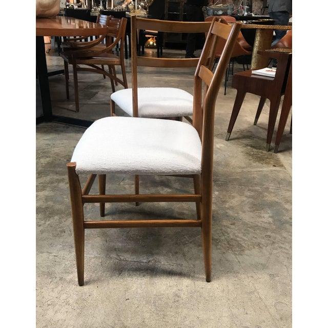 Mid-Century Modern 1950s Gio Ponti Superleggera Dining Chairs - a Pair For Sale - Image 3 of 9