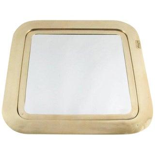 Italian Esa Fedrigolli Large Bronze Tray Platter