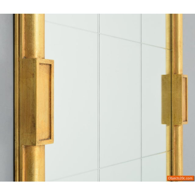 Gold Large Tommi Parzinger Mirror For Sale - Image 8 of 10