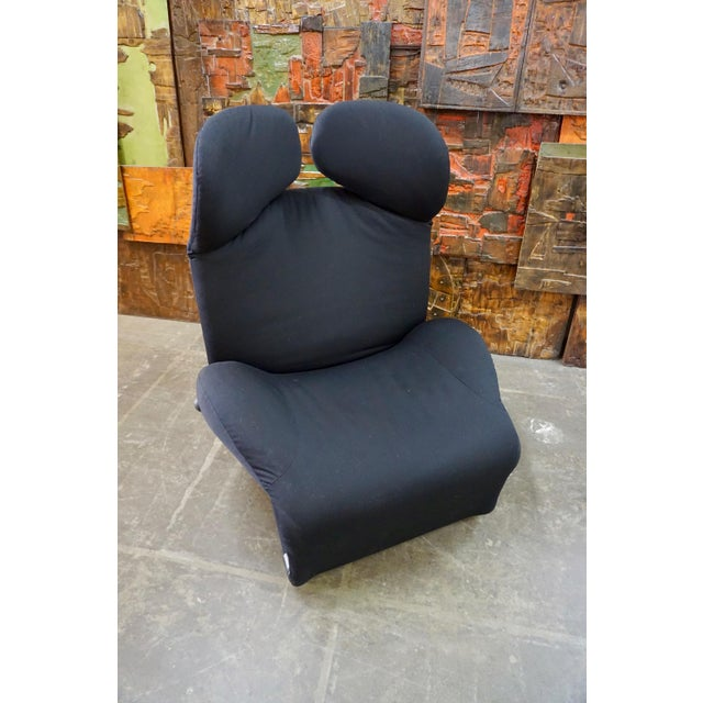 "Toshiyuki Kita ""Wink"" Convertible Lounge Chair 1980's For Sale - Image 9 of 9"