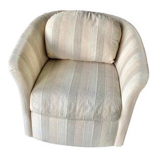 Vintage Selig Barrel Chair For Sale