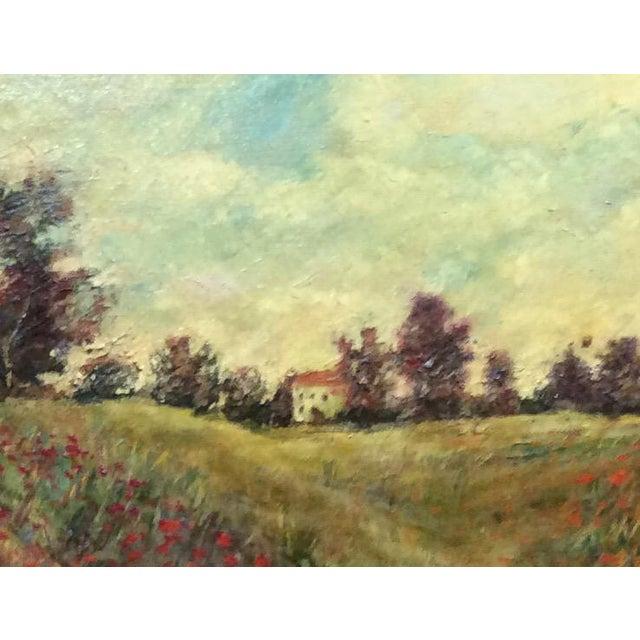 Antique Framed Impressionism Signed Painting For Sale - Image 11 of 11
