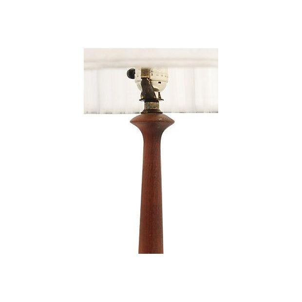 Mid-Century Multicolor Stripe Lamp - Image 4 of 9