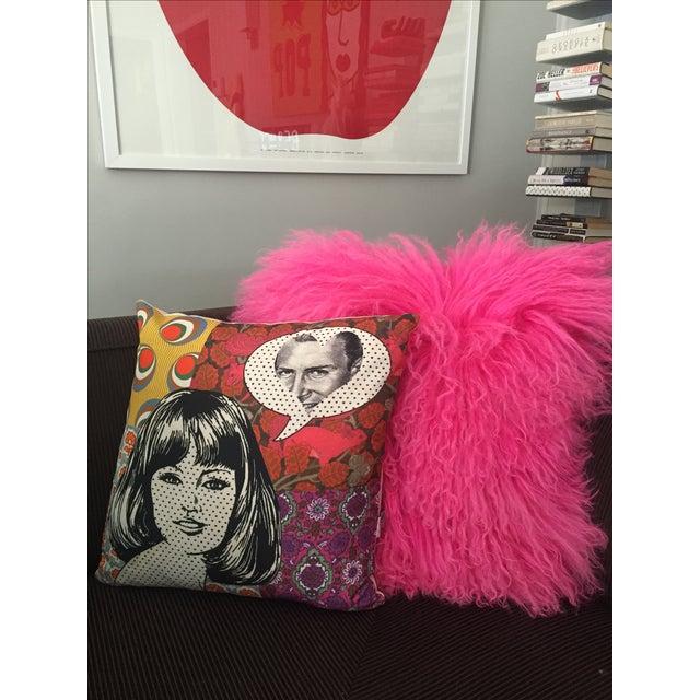 Pop Art Pillow - Image 2 of 4