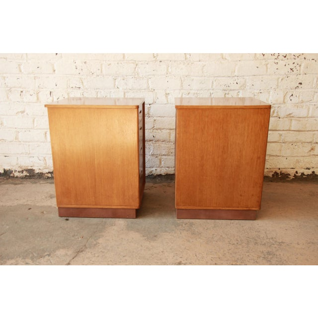 Edward Wormley for Dunbar Mid-Century Nightstands - a Pair For Sale - Image 9 of 11