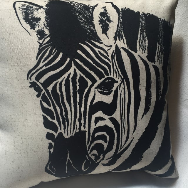 Zebra Print Pillow - Image 5 of 7