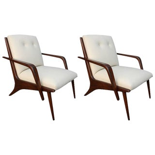 Scapinelli Brazilian Armchairs - a Pair For Sale