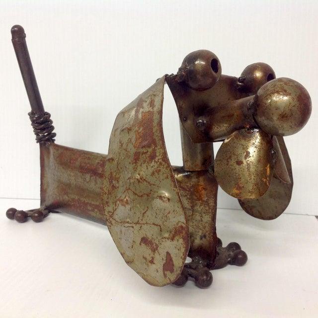 Industrial Steampunk Weiner Dog Sculpture For Sale - Image 4 of 5